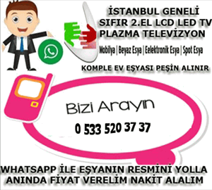istanbul ikinci el televizyon alım satım